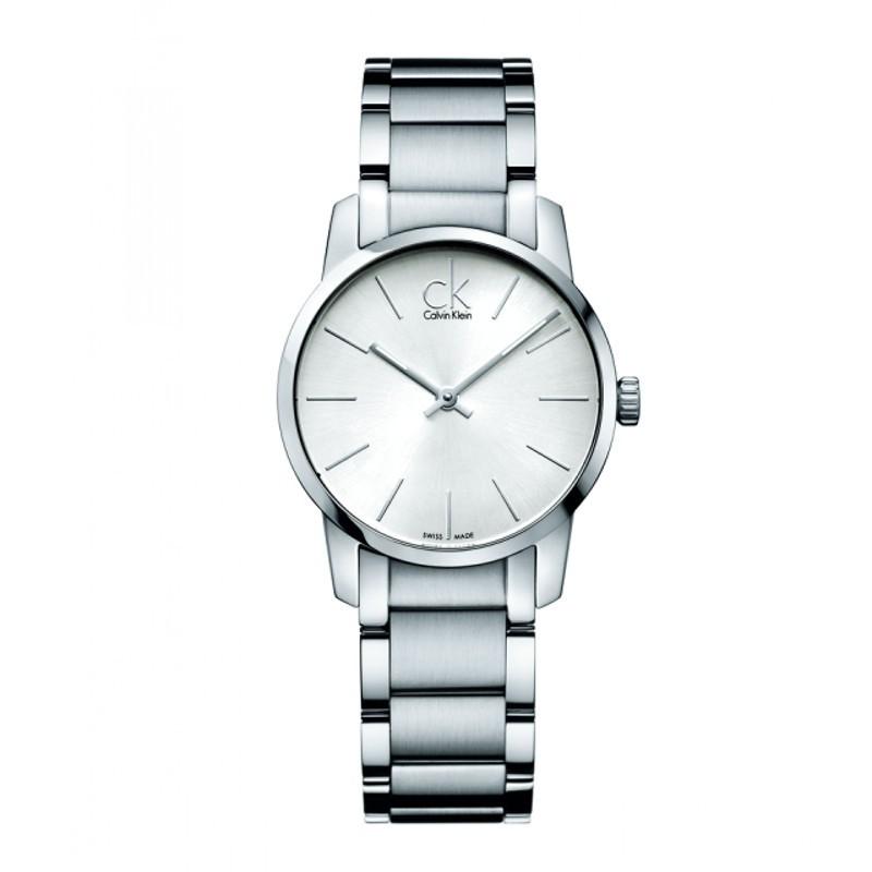 Reloj Calvin Klein City Plata 31mm K2G23126