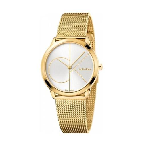 Reloj Calvin Klein Minimal Dorado 35mm K3M22526