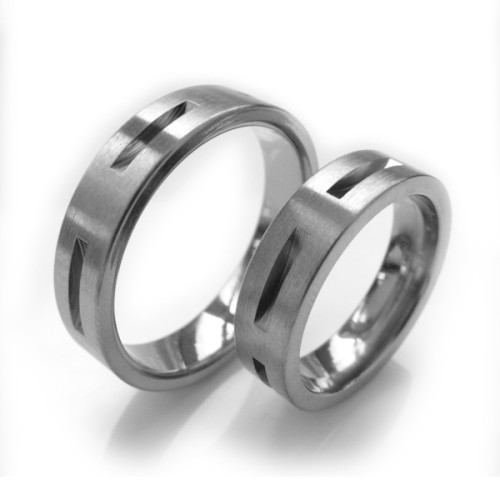 Alianzas de boda de titanio Titanium Collection TTT2033-50