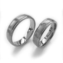 Alianzas de titanio Titanium Collection TTT1026-50 y TTB1026-50