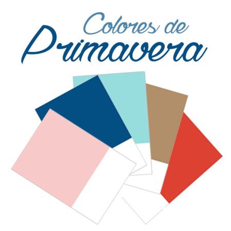 colores primavera 2016