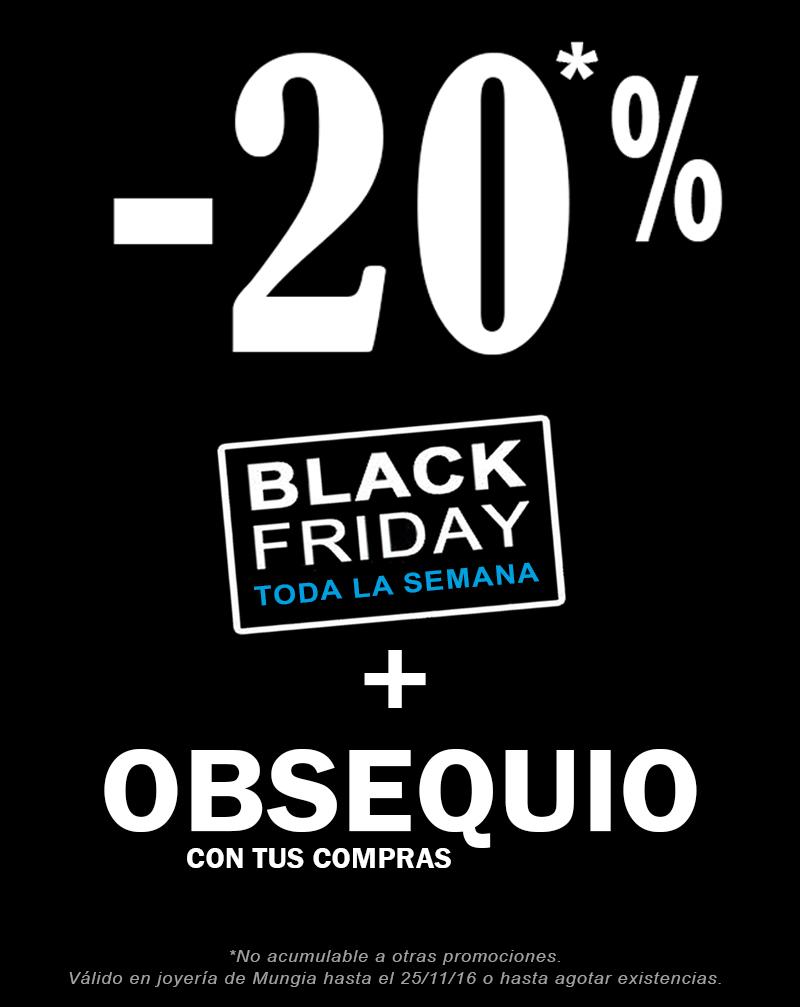 20 Descuento Black Friday Joyeria Larrabe