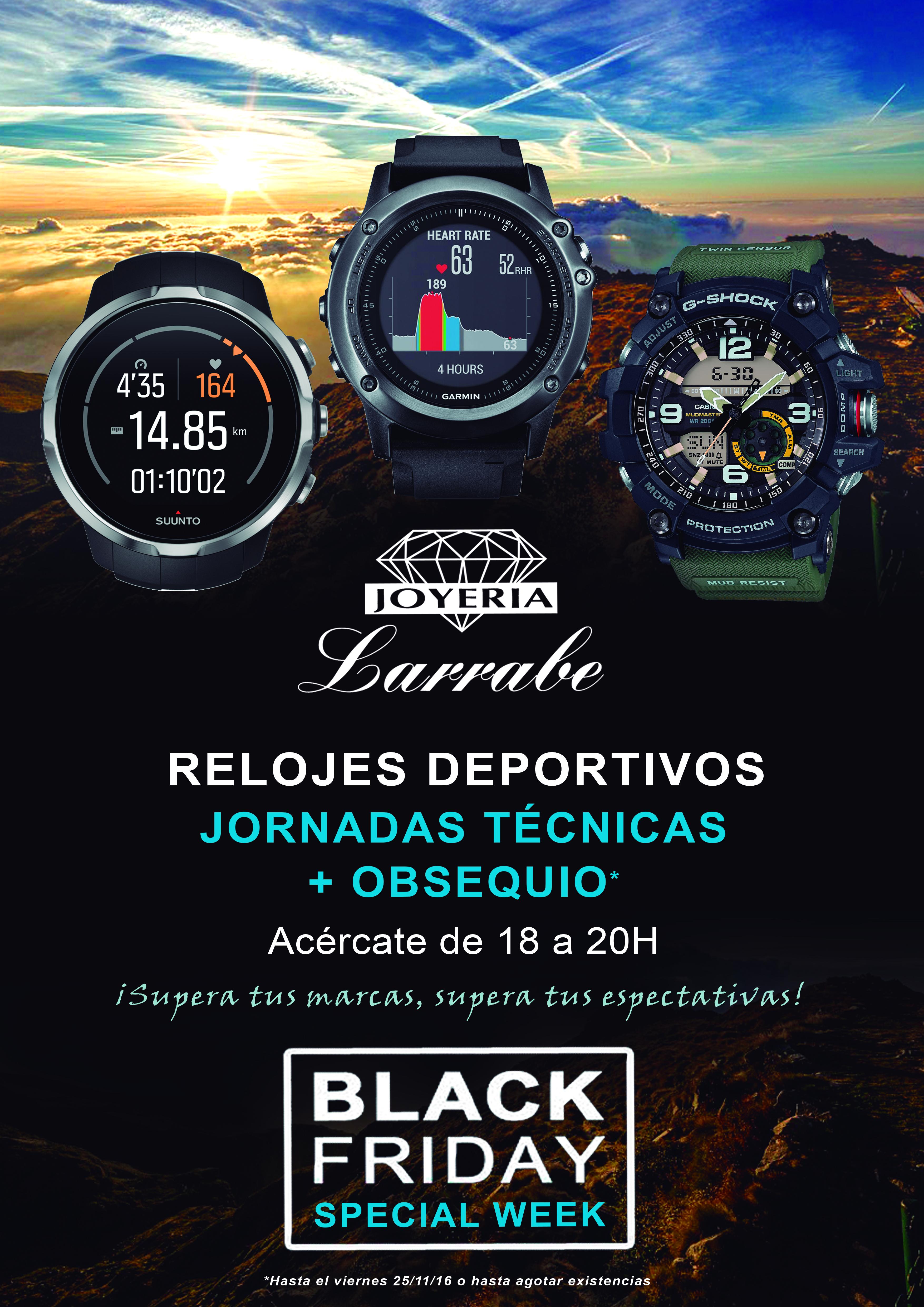 Jornadas Técnicas Deportivas Joyería Larrabe Black Friday