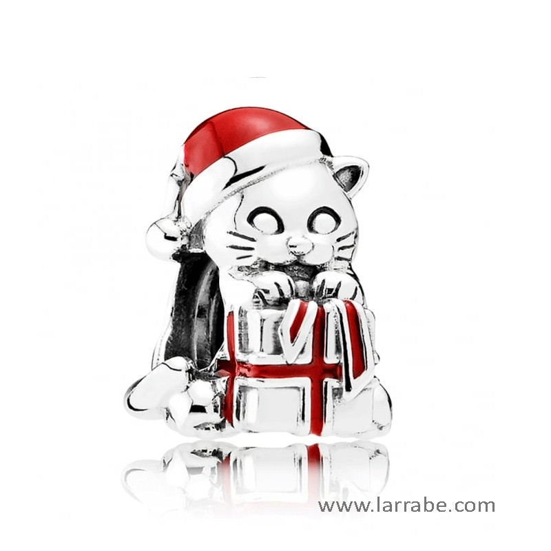 Comprar Abalorio Pandora Gatito de Navidad