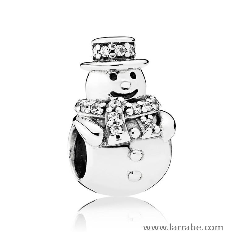 Comprar Abalorio Pandora Muneco de Nieve