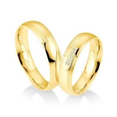Alianzas Saint Maurice oro amarillo