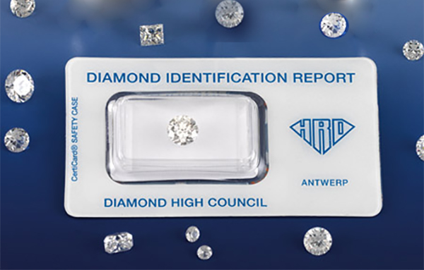 Certificado de diamante