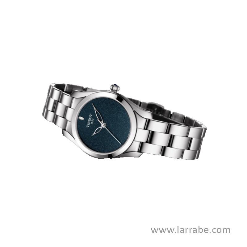 Reloj TISSOT T-WAVE (30mm) de mujer esfera azul