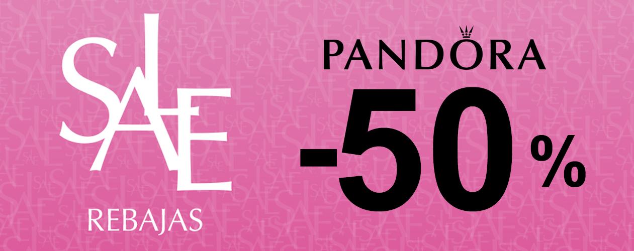 Rebajas Pandora -50% descuento