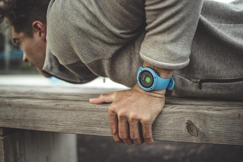 reloj suunto spartan trainer azul
