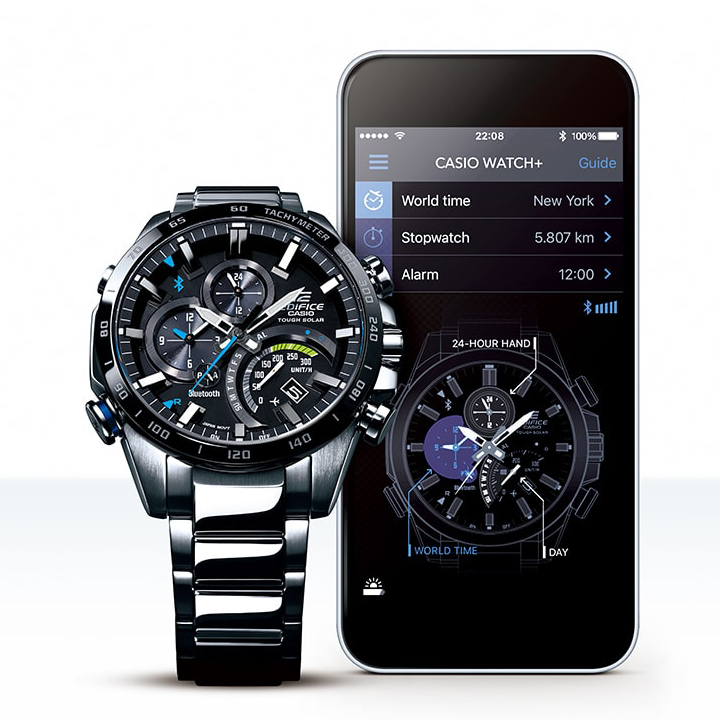 relojes Casio Bluetooth