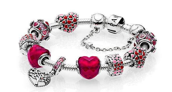 Colección Pandora San Valentín