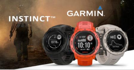nuevos relojes garmin instinct