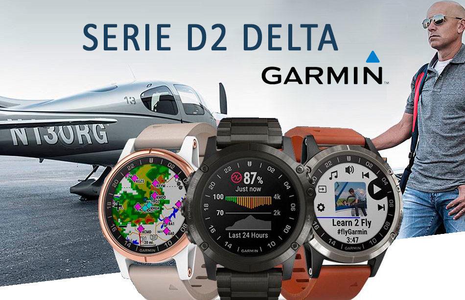 relojes garmin D2 Delta