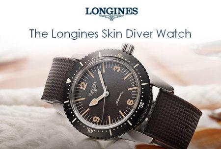 Reloj longines skin diver