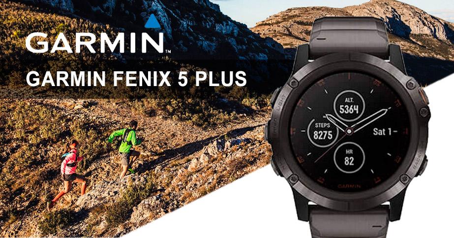 Relojes Garmin Fenix 5 plus