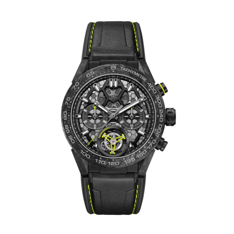 Reloj TAG Heuer Carrera Calibre Heuer 02T COSC Nanograph CAR5A8K.FT6172