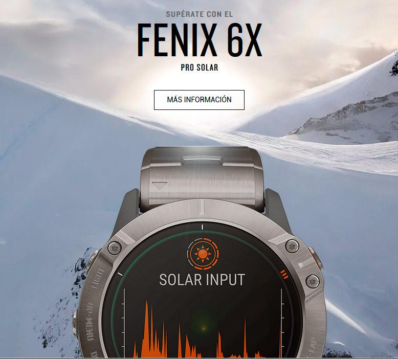Reloj Garmin Fenix 6Z Pro Solar