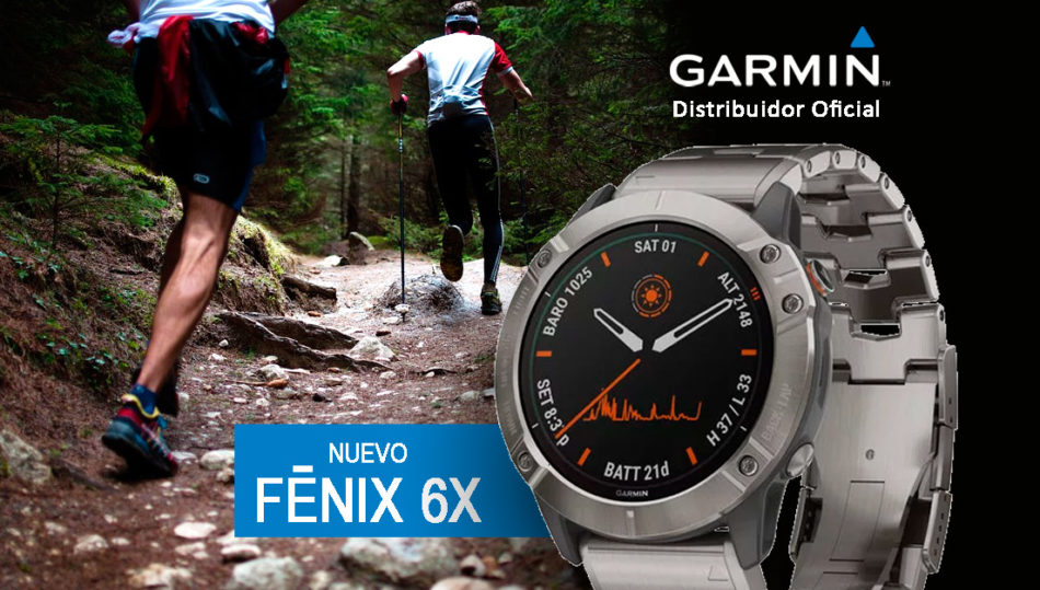 Nuevo reloj GARMIN FENIX 6X