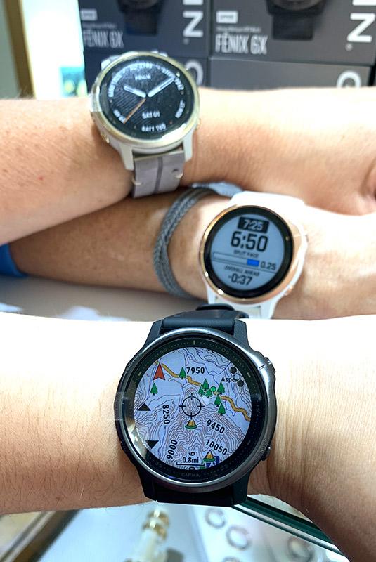 Todos de son relojes Garmin Fenix 6S