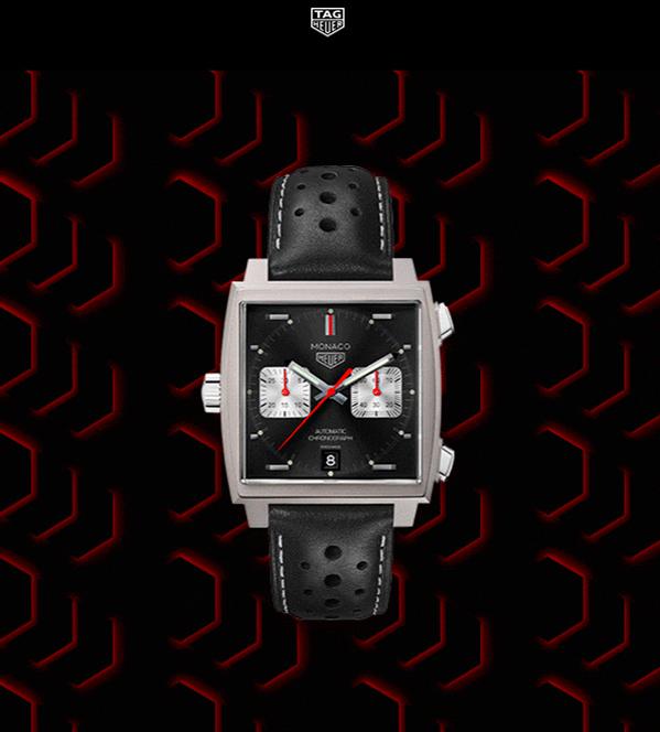 reloj TAG Heuer Monaco Edición Limitada 2010 CAW211Z.FC6470