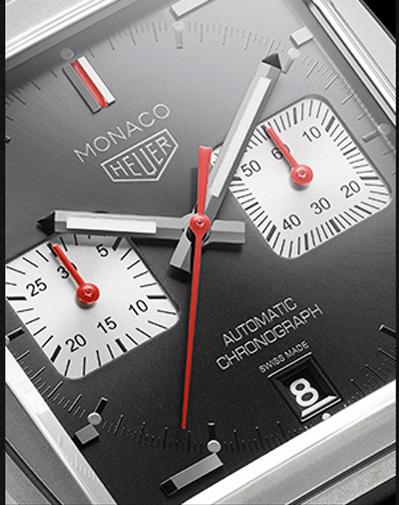 Detalles del reloj edición limitada TAG HEUER Monaco 2010