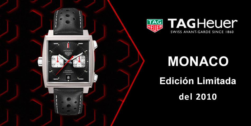 Reloj TAG Heuer Monaco edición limitada 2010