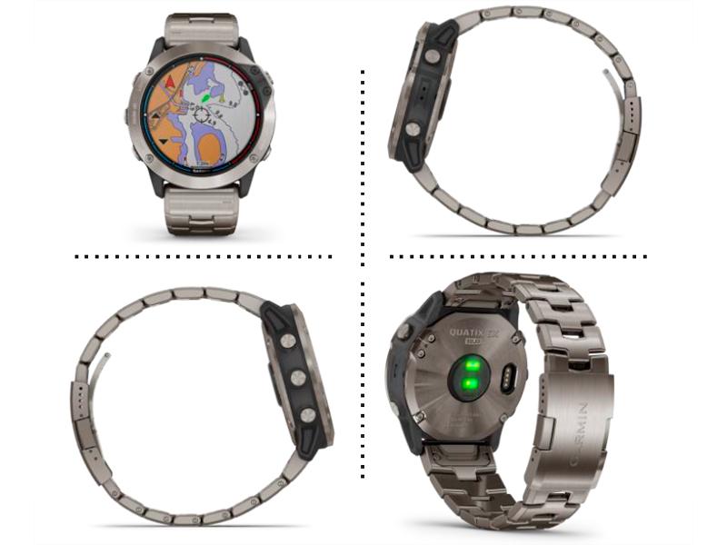 Reloj Garmin Quatix® 6X Solar 010-02157-31 detalle