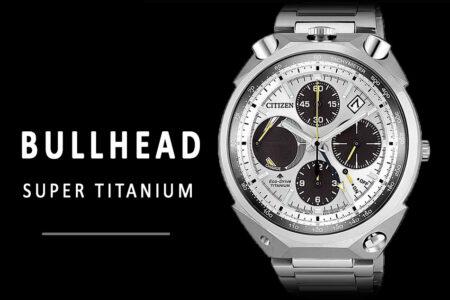 Reloj Citizen Super Titanium Bullhead