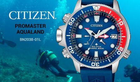 Reloj Citizen Aqualand BN2038-01L