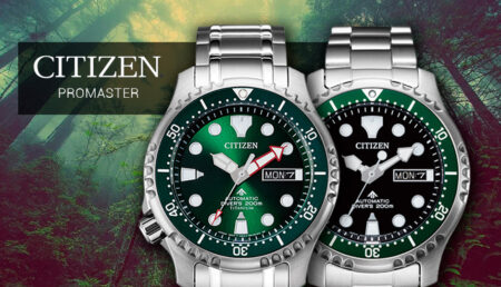 Relojes Citizen Promaster NY0084-89E y Citizen Promaster NY0100-50X