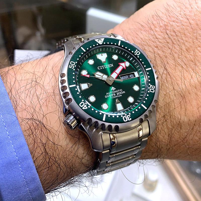 Reloj Citizen Promaster Automático ST 42mm de titanio NY0100-50X al mejor Precio. Distribuidor Oficial.