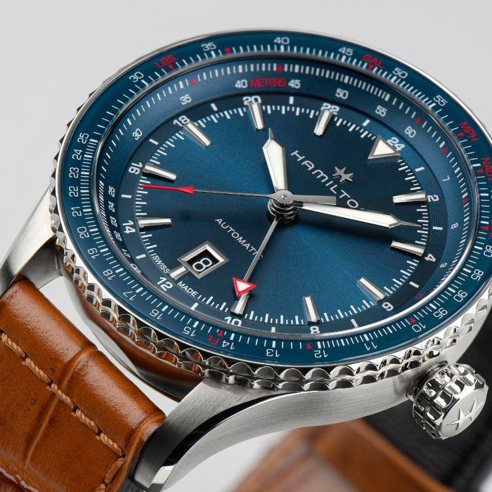 Reloj Hamilton Khaki Aviation Converter Auto GMT 44mm H76715540