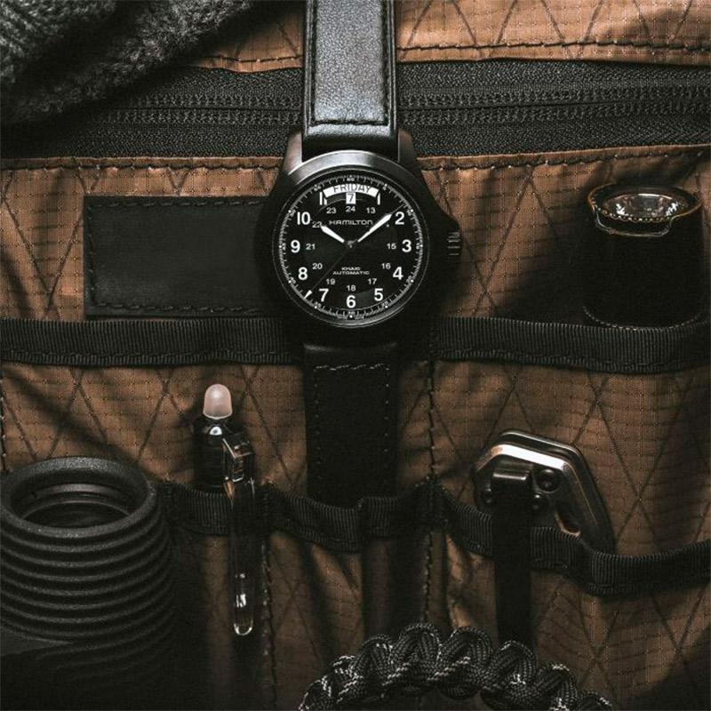 Reloj Hamilton Khaki Field King Auto 40mm cuarzo H64465733
