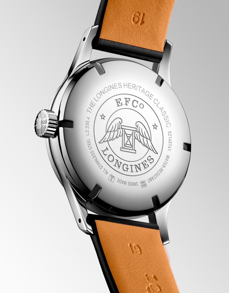correa del Reloj Longines Heritage Classic Tuxedo
