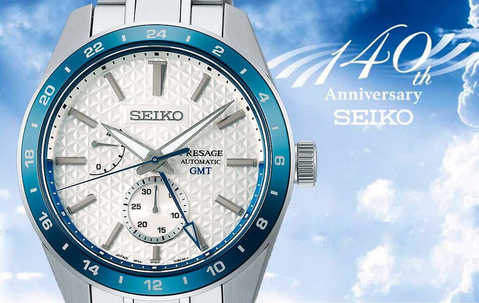Reloj Seiko Presage Edición Limitada 140 Aniversario SPB223J1