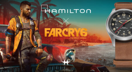 Hamilton Khaki Field Titanium Automatic Far Cry 6 H70645533
