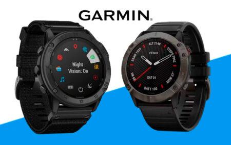 Comparativa Garmin Tactix Delta Solar vs Garnin Fenix 6X