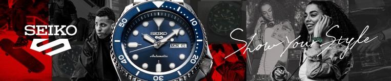 Relojes Seiko 5 Sports - Joyería Larrabe