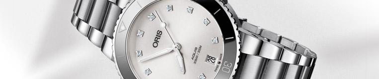 Relojes Oris Aquis Lady , diseño moderno en Joyería Larrabe